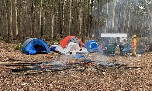 Du khách đốt lửa trại, suýt thiêu cháy cả khu rừng ở Australia