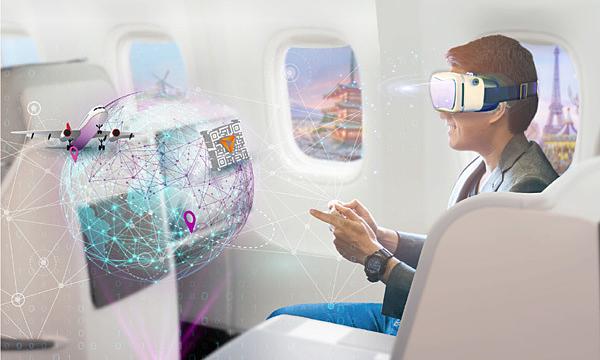 Mô hình chuyên cơ công nghệ tại Lễ hội Khuyến mãi Du lịch Travel Fest