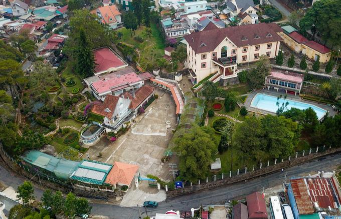 Biệt điện có hầm trú ẩn của bà Trần Lệ Xuân ở Đà Lạt