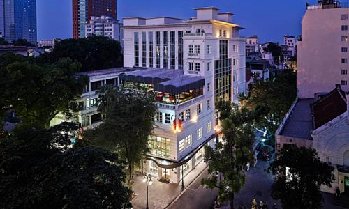 Press Club Hanoi tọa lạc trong khu Pháp cổ Hà Nội.