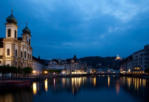 Lucerne là một điểm đến trong lịch trình tour châu Âu 3 nước của Tugo.