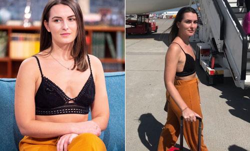 Khách nữ lên truyền hình chỉ trích hãng bay vì không được mặc hở - ảnh 1