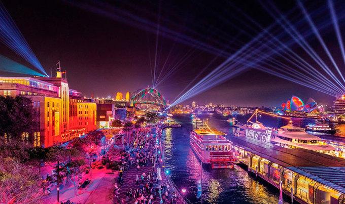 Lý do lễ hội ánh sáng ở Australia thu hút khách du lịch