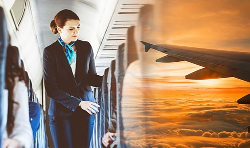 Điều duy nhất bạn cần làm để có một chuyến bay an toàn là nghe theo hướng dẫn của tiếp viên. Ảnh: Express.