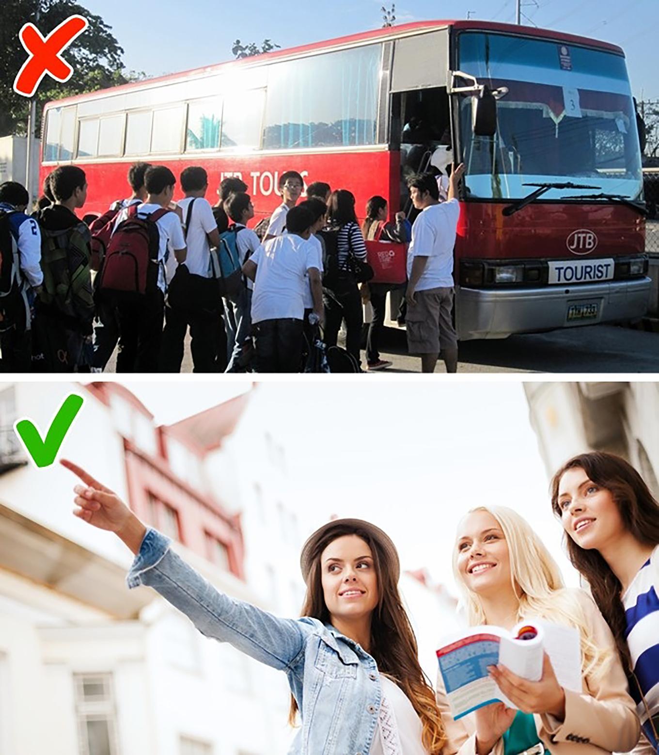 10 sai lầm khách du lịch thường mắc phải