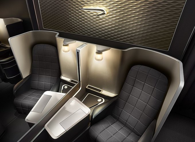 Sự khác biệt khi ngồi khoang hạng nhất và phổ thông trên máy bay