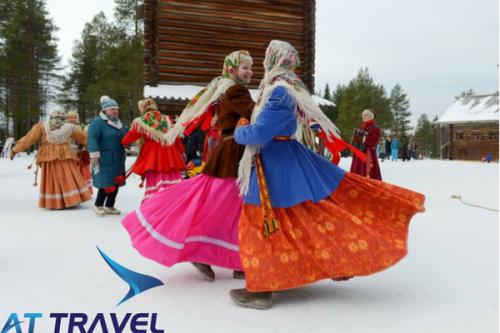 Nước Nga là nơi giao lưu của các nền văn hóa Á - Âu.