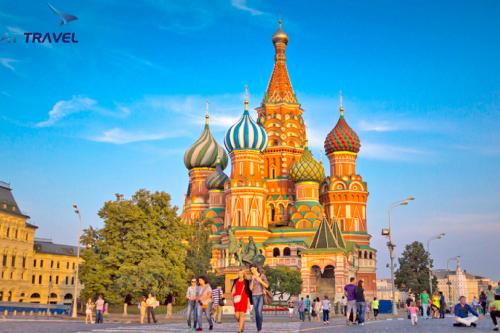 Du khách đến nước Nga sẽ được ngắm mùa thu vàng.