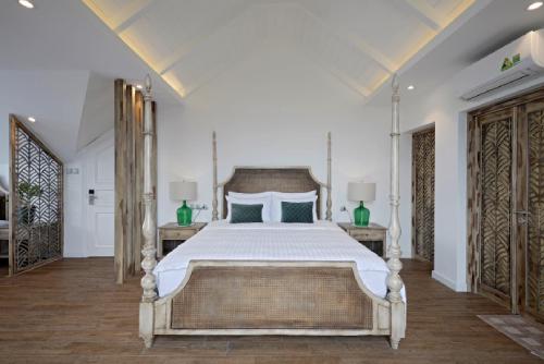 Villa mang dáng dấp hài hòa của nét đẹp hiện đại và cổ điển.