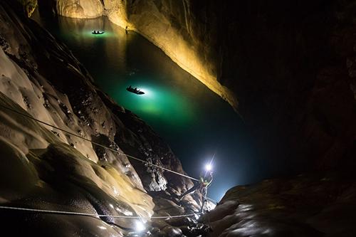 Các chuyên gia phát hiện thêm hệ thống hang ngầm bí ẩn ở Sơn Đoòng - 1