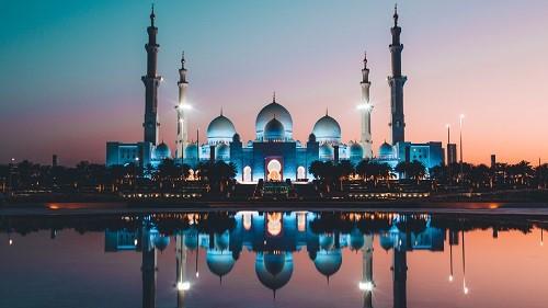 Nhà thờ Hồi giáo Sheikh Zayed dát vàng rực rỡ.