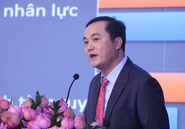 Ông Bùi Tá Hoàng Vũ - Giám đốc Sở Du lịch TP HCM mong Diễn đàn sẽ thảo luận và hiến kế cho du lịch thành phố phát triển.