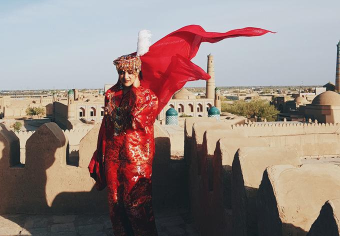 Cô gái Việt ví Uzbekistan như vùng đất bước ra từ cổ tích