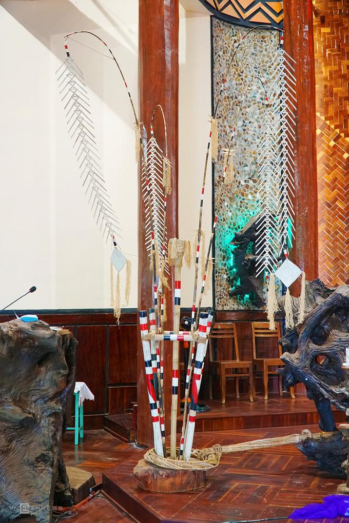 Nhà thờ có kiến trúc nhà rông duy nhất ở Gia Lai