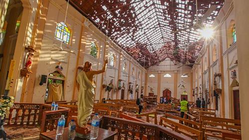 Chưa nhóm nào lên tiếng nhận trách nhiệm về hàng loạt vụ nổ tại Sri Lanka. Ảnh:CBC.