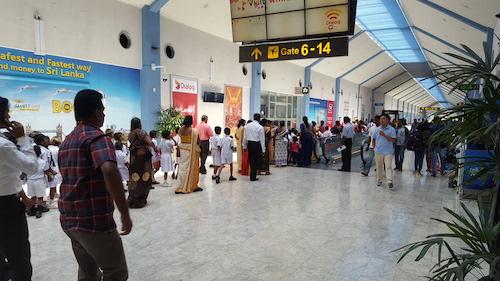 Hành khách bay đi từ Colombo cần có mặt tại sân bay sớm để hoàn thành các thủ tục an ninh và sẵn sàng khi có thay đổi. Ảnh:Skytrax.