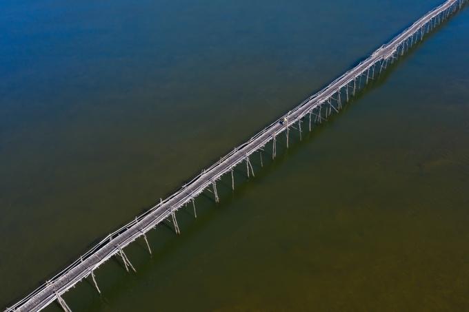Cây cầu gỗ dài nhất Việt Nam