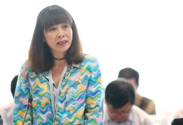 Bà Trương Thị Hồng Hạnh - Phó giám đốc Sở Du lịch Đà Nẵng.