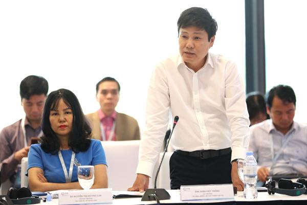 Ông Đinh Việt Thắng, Cục trưởng Cục Hàng không.