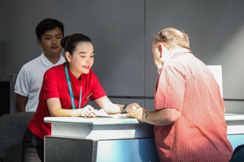 Visa, thủ tục hải quan và hàng không Việt Nam thời gian qua có nhiều cải thiện tích cực. Ảnh: Khương Nha.