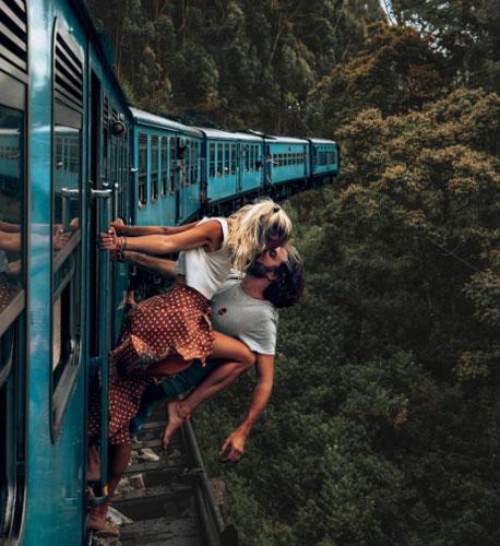 Trêntài khoản Instagram Backpackdiariez mà họ cùng điều hành, số lượng người hâm mộ cả hai lên đến gần 200.000. Đôi tình nhân trẻ được yêu thích vì thường xuyên đăng các bức ảnh du lịch đẹp, cá tính. Ảnh: Instagram.