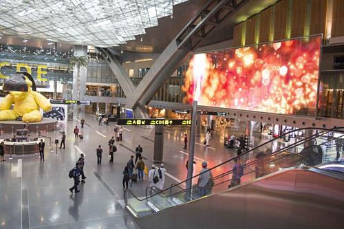 Sân bay Quốc tế Hamad ở Qatar đứng đầu danh sách các sân bay tốt nhất thế giới, theo đánh giá của AirHelp. Ảnh: Bloomberg.