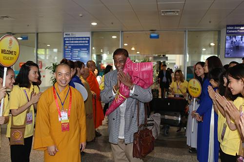 Bộ trưởng Sri Lanka nói lời cảm ơn chân thành và đầy cảm động trước sự đón tiếp nồng nhiệt của Phật giáo nước chủ nhà.