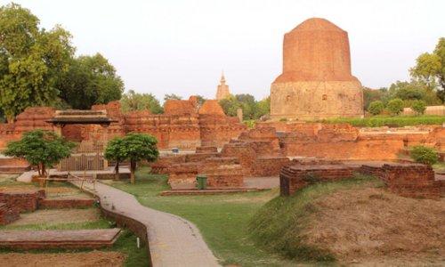 Lộc Uyển là nơi Đức Phật chuyển pháp luân lần đầu tiên. Ảnh: Times of India.