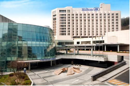 Khách sạn Grand Hilton là nơi lưu trú trong tour Hàn Quốc cao cấp của Tugo. Ảnh: Halal trip.