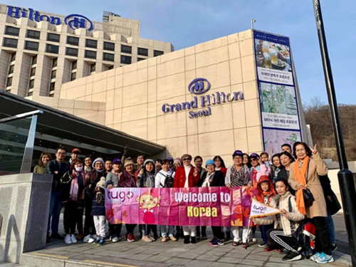 Du khách ở tại khách sạn Grand Hilton trong tour du lịch cao cấp của Tugo Ảnh:Tugo.