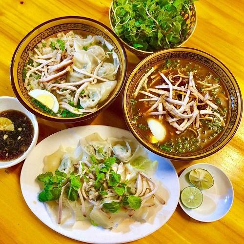 Cuốn sủi là món ăn dân dã mang đậm hương vị đặc trưng của vùng đất Lào Cai. Ảnh:Cuốn sủi Ông Há Sapa.