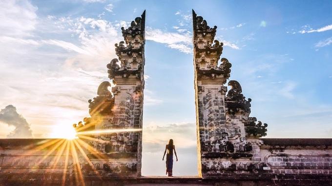 Cánh cổng phân cách thiên đàng và địa ngục ở Bali