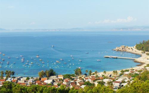 Quy Nhơn có nhiều vùng biển, đảo đẹp. Ảnh: Yên Lan.