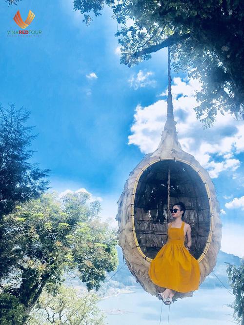 Trải nghiệm đu dây Bali Swing khi du lịch Indonesia - ảnh 3