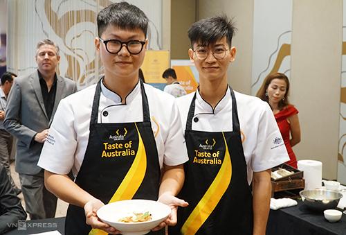 Sinh viên Việt Nam tranh tài nấu món ăn Australia - ảnh 1