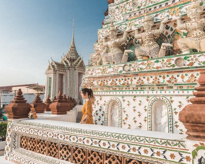 Ngôi chùa được khách chụp ảnh nhiều nhất Bangkok