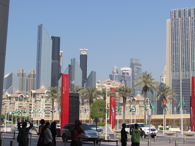 Dubai nổi tiếng với những toà cao ốc hiện đại, kiến trúc độc đáo.