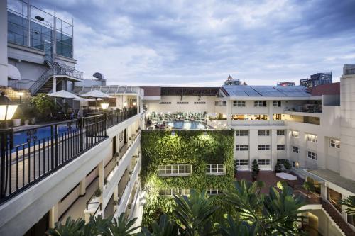Điểm đến cho người thích bơi lội giữa trung tâm Sài Gòn - ảnh 1