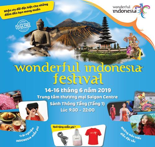 Lễ hội Wonderful Indonesia 2019 tại Việt Nam