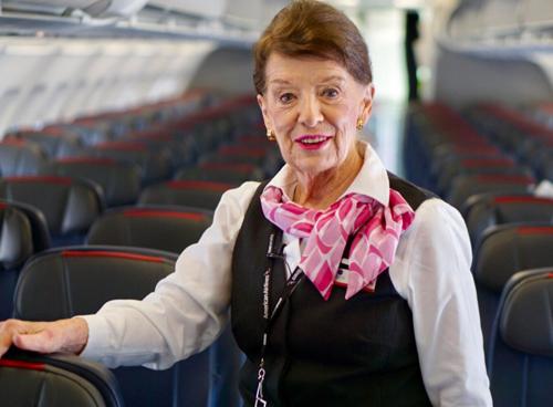 Betty thường bay chuyến Washington - Boston, Mỹ. Ảnh: Topnews.