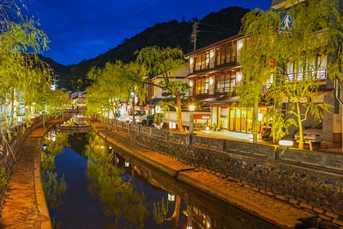Vẻ đẹp ở Kinosaki khiến Paul say mê. Ảnh: Inside Kyoto.