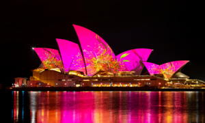 Đại tiệc ánh sáng chào đón mùa đông ở Australia