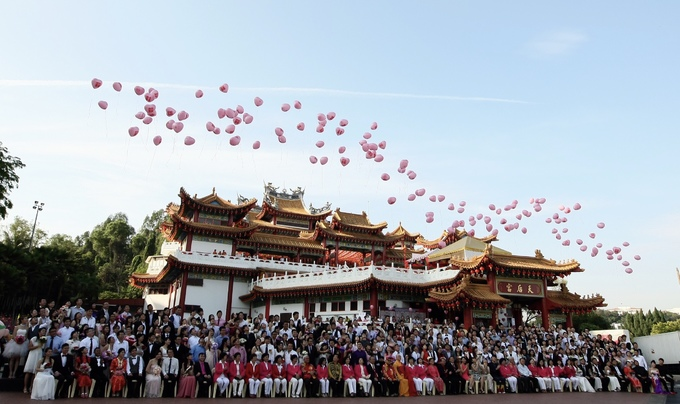 Ngôi chùa nơi hàng nghìn đôi kết hôn mỗi năm ở Malaysia