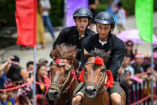 Lý do du khách yêu thích giải đua ngựa tại Fansipan - ảnh 5