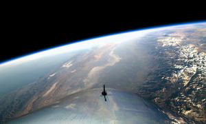 Trái Đất nhìn từ tàu vũ trụ đưa khách du lịch không gian