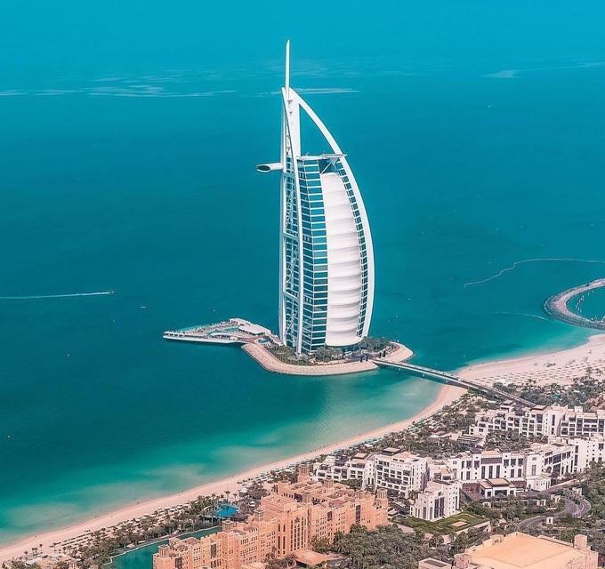 Độ xa hoa của khách sạn 7 sao đầu tiên trên thế giới
