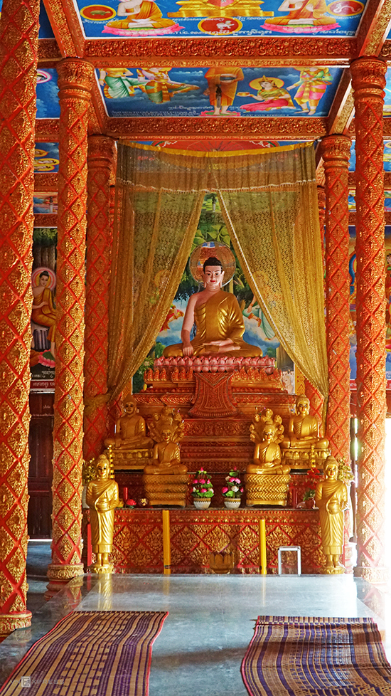 Ngôi chùa Khmer hơn 140 năm tuổi ở An Giang