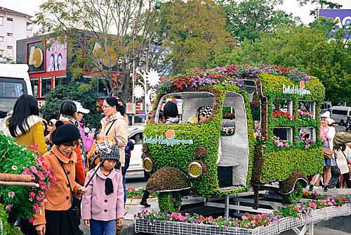 Festival hoa Đà Lạt thay đổi chủ đề mỗi ngày - ảnh 1