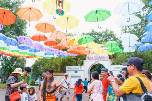 Trải nghiệm lễ hội đường phố và Festival Nhật Bản 2019 tại Đầm Sen - ảnh 3