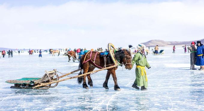 Mùa đông khắc nghiệt ở Mông Cổ
